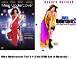 Miss Undercover 1+2 dvd Set, deutsch, 1 & 2, Sandra Bullock