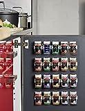 Provance Gewürzhalter Gewürze Küche Halter Organizer Gewürzregal Gewürzständer Klammer bis 20 Dosen