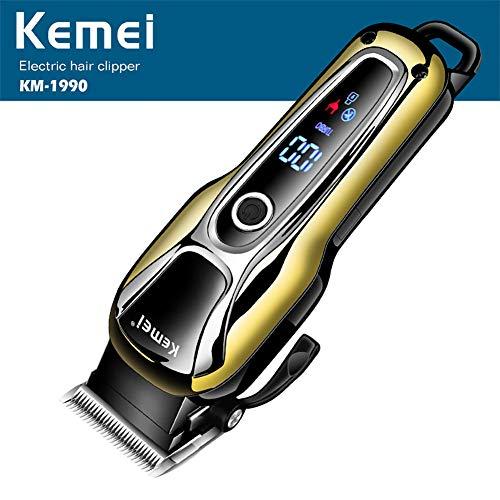 Delilya Herren-Haarschneidemaschine, wiederaufladbare Akku-Rasiermesser Elektrorasierer Bartschneider Pflege Rasiermaschine Selbsthaarschneiden Haarschnitt Trimmer Cutter -