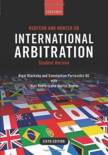 Redfern and Hunter on International Arbitration by Nigel Blackaby (2015-11-17)