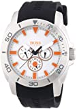 Boss Orange Herren-Armbanduhr XL Big Day Multieye Analog Quarz Silikon 1512955