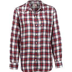 Levi's ® Graphic Crop W Camiseta de Manga Larga Chinese Red