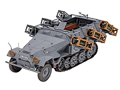 """Revell Modellbausatz Panzer 1:35 - Sd.Kfz. 251/1 Ausf.B """"Stuka zu Fuß"""" im Maßstab 1:35, Level 5, originalgetreue Nachbildung mit vielen Details, 03248 von Revell"""