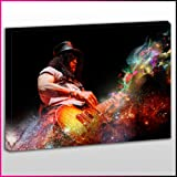 Best Image Pop Filters - MU465 Slash Galactic Guitar Framed Ready To Hang Review