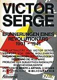 Erinnerungen eines Revolutionärs. 1901-1941