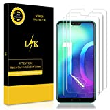 K&L LK Schutzfolie für Honor 10 [3 Pack], Liquid Skin [Vollständige Abdeckung] [Blasenfreie] HD Klar Flexible Folie for Huawei Honor 10 Folie
