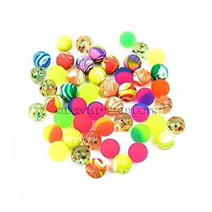 Gifts 4 All Occasions Limited SHATCHI-1218 Shatchi 50 Super Bounce Bouncy Jet Balls niños cumpleaños bolsa de regalo juguete, Multi
