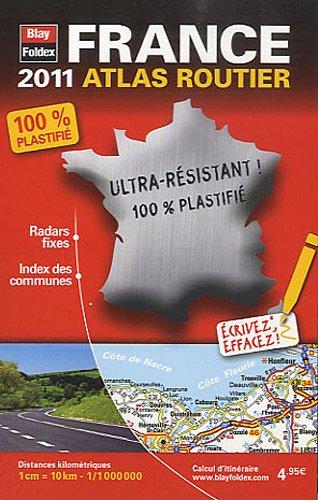 2011 mini atlas routier plastifié France