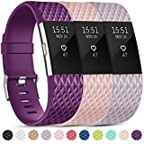 Onedream Compatible pour Barcelet Fitbit Charge 2 Femme Homme, Charge2 Sport Strap...