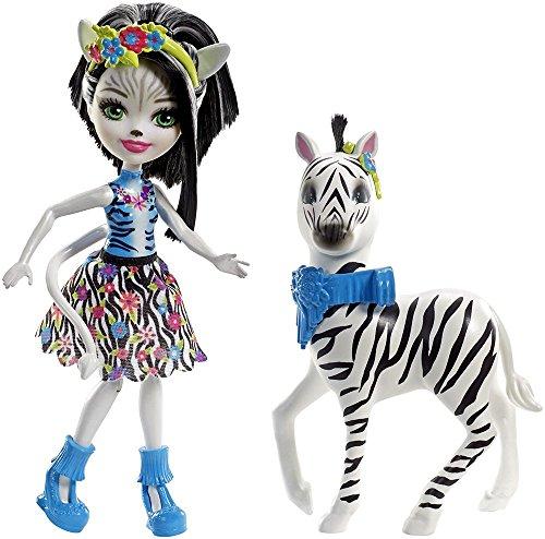 Mattel Muñeca enchantimal con Animal Grande, (75FKY)
