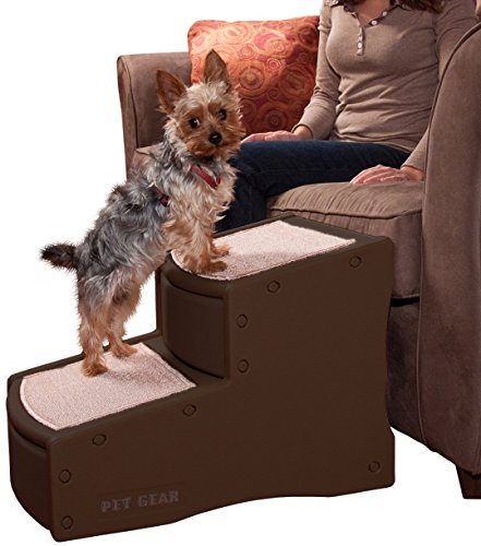 Pet Gear Easy Step II Escalera para mascota de 2 escalones para gatos y...