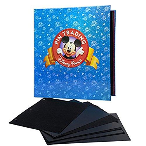 Disney Parks Exclusive Pin Trading 3Ring Binder Album Buch mit Set von Pins Seiten und Trennwände (Trennwände Für 3-ring Binder)