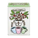 Derriere la Porte - Boite à Filtres à café Tasses - Dose für Kaffeefilter - Metall