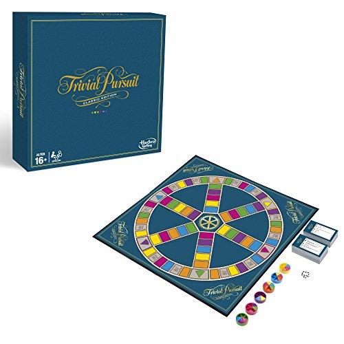 Hasbro Gaming C1940100 - Trivial Pursuit Familienspiel