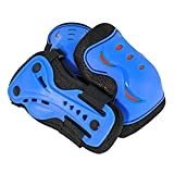 SFR Essentials AC760 Junior 3 Pad Set in Hot Colours - Blue Large