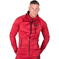 Gw Bridgeport Zipped Hoodie - Red -XL