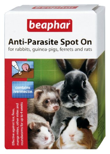 Beaphar - Pipetas Spot On antiparasitos para Conejos