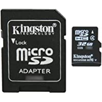 Professional Kingston MicroSDHC 32GB (32 Gigabyte) Card for HTC Inspire 4G Phone Phone with custom formatting and Standard SD Adapter. (SDHC Class 4 Certified)