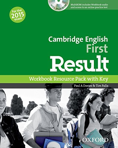 Cambridge English: First Result: Workbook Resource Pack with Key by Paul A Davies Tim Falla (21-Aug-2014) Paperback