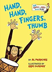 Hand, Hand, Fingers, Thumb (Big Bright & Early Board Book) by Al Perkins (2016-09-06)