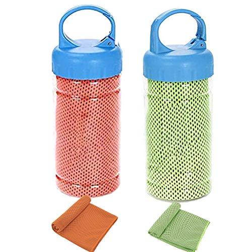 Kampre Cooling Towel 2PCS Sport Bufanda Secado rápido