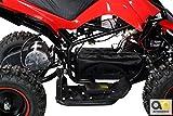 Mini Elektro Kinder Racer rot/schwarz - 8