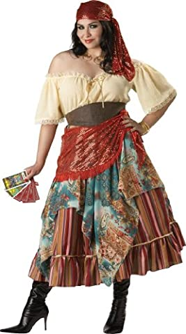 En costumes de personnages 32103 Fortune Teller Elite Plus Taille Costume Adulte Collection XX-Large