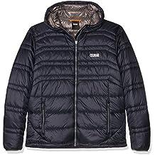 Colmar Hombre levity Hooded Evo Down Jacket–Chaqueta de esquí, otoño/invierno, hombre, color azul marino, tamaño L