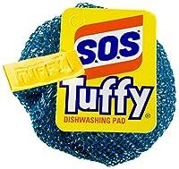 S.O.S. Tuffy Dishwashing Pad (Pack of 24), Colors May Vary