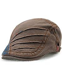 Amazon.it  Berretto Militare - Marrone   Baschi e berretti ... 6bc06ac71cb0