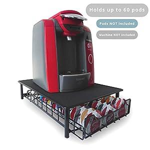 60 T-Disc Pod Tassimo Coffee Holder & Dispenser Stand Drawer Storage M&W