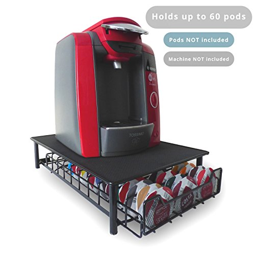 60 T-Disc Pod Tassimo Coffee Holder &...