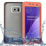 Funda Impermeable Samsung Galaxy S7 Edge Funda IP68 Certificado protectora completa 360 grados cuerpo protector pantalla incorporado, Cubierta anti-arañazos a prueba golpes para Galaxy S7 Edge