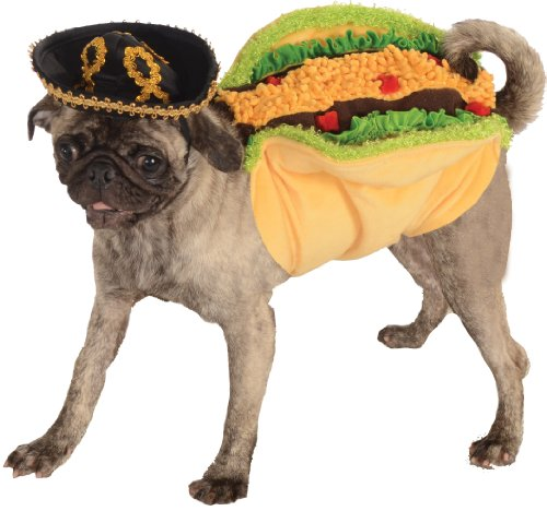 Kostüme Erwachsene Taco (Rubies Taco Pet Food Costume)