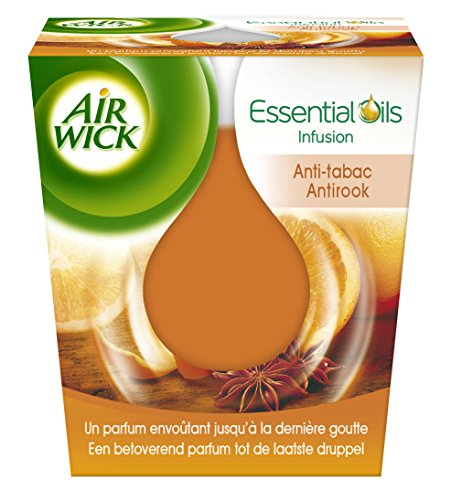 Air wick, candela essential antitabacco essential oils