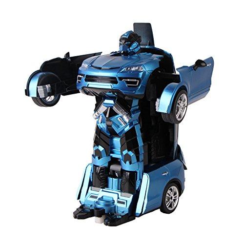 ROBOT VOITURE transformable et télécommandé (Giant Marron)