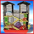 Hamster Cage Beckingham Palace Extra Large With Free Hamster Ball