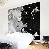 Apalis Vliestapete Milk Und Coffee II Fototapete Quadrat   Vlies Tapete  Wandtapete Wandbild Foto 3D Fototapete