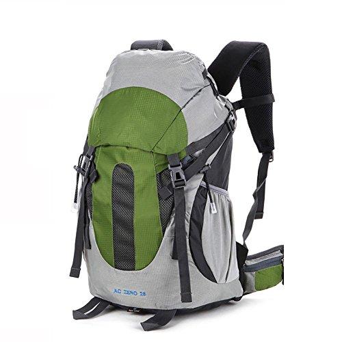 ROBAG Borsa da escursione esterna 25L impermeabile traspirante , blue green