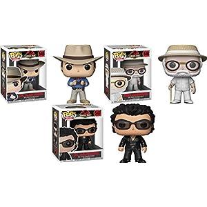 Funko POP Jurassic Park Dr Alan Grant John Hammond Dr Ian Malcolm Set NEW