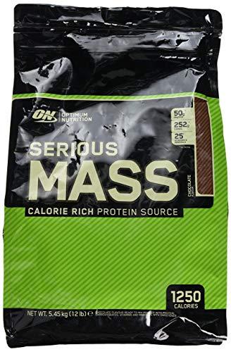 Optimum Nutrition Serious Mass Ganador, Chocolate - 5443 g