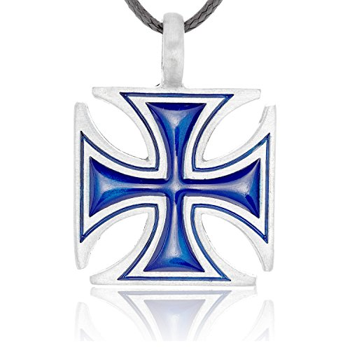 llords-jewellery-classic-big-blue-iron-cross-necklace-pendant-fine-pewter-jewelry