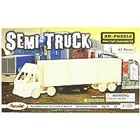 Comparador de precios Puzzled, Inc. 3D Natural Wood Puzzle - Semi Truck by Puzzled, Inc. - precios baratos
