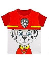 Paw Patrol Jungen Mädchen Official Kinder T-Shirt & Erstellen Sie Ihre Eigene Masken