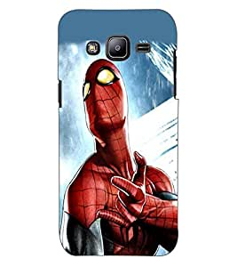 ColourCraft SuperHero Design Back Case Cover for SAMSUNG GALAXY J2 DUOS