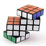 MagiDeal Magic Zauberwürfel Unregelmäßige Cube geeignet Twist Puzzle Kunststoff Spielzeug für Speedcubing-Anfänger Kinder Erwachsene - # E
