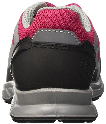 Diadora D-Flex Low S1p Src, Chaussures de Sécurité Homme Rose (Rosa Brillante/grigio)