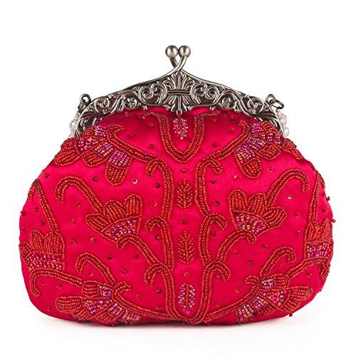 Farfalla 90459, Pochette donna Rosso (rosso)