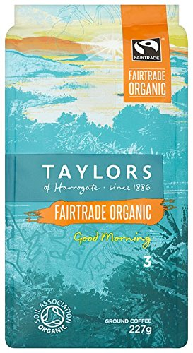 Taylors of Harrogate Organic Good Morning Ground Coffee, 227g 51TosHUeQyL