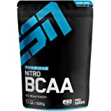 ESN BCAA Nitro Powder – 500 g – Peach Iced-Tea – 38 Portionen – L-Leucin, L-Valin, L-Isoleucin ( Branched-Chain Amino…